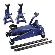 Certified Jack and Axle Stand Kit, 3-Ton