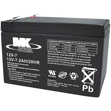12-Volt 7.2AH SLA Battery   Canadian Tire on