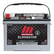 MotoMaster Eliminator Ultra AGM Automotive Battery