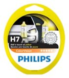 Ampoule de phare jaune ColorVision Philips H7, paq. 2 | Philips | Canadian Tire