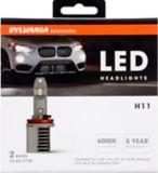 Ampoules de phare à DEL H11 Sylvania ZEVO, paq. 2 | Sylvania | Canadian Tire