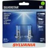 Ampoules de phare H1 Sylvania SilverStar, paq. 2 | Sylvania | Canadian Tire