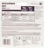 H11 Sylvania XtraVision® Headlight Bulbs, 2-pk | Sylvania | Canadian Tire