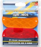 Optronics Oblong Reflectors, Red/Amber, 4-pk | National | Canadian Tire