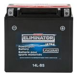 MotoMaster Eliminator Ultra AGM Powersports Battery, 14L-BS | MotoMaster | Canadian Tire