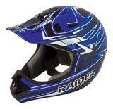 Raider Rush MX Helmet, Adult, Black/Blue | Raider Powersports | Canadian Tire