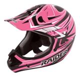 Raider Rush MX Helmet, Youth, Black/Pink | Raider Powersports | Canadian Tire