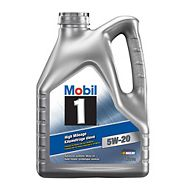 Mobil 1 Synthetic High Mileage Oil, 4.4-L Jug