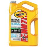Pennzoil Platinum Synthetic High Mileage Motor Oil, 5 L | Pennzoil | Canadian Tire