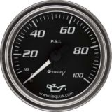 Manomètre de pression d'huile EQUUS, 2 po, chrome | Equus | Canadian Tire