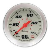 EQUUS 2-in. Oil Pressure Gauge, Aluminum | Equus | Canadian Tire
