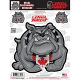 Canada Bull Dog Car Decal | Lethal Threat | Canadian Tire