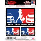 Major League Racer Car Decal