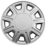 Silver Wheel Cover KT857, 15-in. | Nine | Canadian Tire