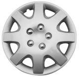 Silver Wheel Cover KT895 , 14-in | KT