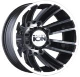 Ion Alloy Style 166 Dually wheel in Matte Black | ION | Canadian Tire