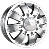 Ion Alloy Style 166 Dually wheel with Chrome Finish | ION | Canadian Tire