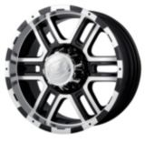 Ion Alloy Style 179 wheel in Black with Machined Lip | ION