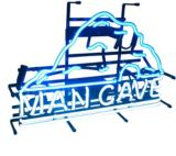 Mancave Neon Wall Sign, Large |