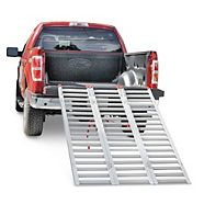 76-in Extra-Wide Multi-Purpose Aluminum Loading Ramps Trio
