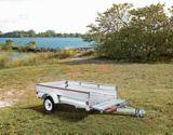 Stirling Galvanized Box Trailer, 4 x 7-ft | Stirling