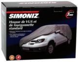 Simoniz Standard Indoor/Outdoor SUV/Van Cover | Simoniz
