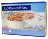 Plat à rôtir Corning French White, 4 pintes | Corningware