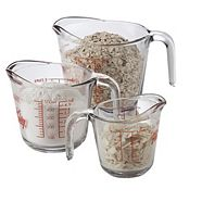 Anchor Hocking Measuring Cup Set, 3-pc