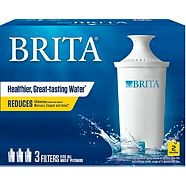 Brita Pitcher Replacement Filter, 3-pk
