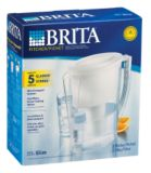 Brita Slim Pitcher | Brita | Brita systems reduce lead in tap water Removes 98% of lead