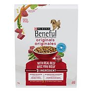Purina® Beneful® Original with Beef Dog Food, 8-kg