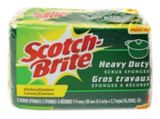 Scotch-Brite Heavy Duty Scrub Sponge, 3-pack | Scotch-Brite