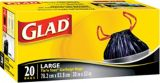 Glad Easy-Tie Garbage Bags, 20-pk | GLAD