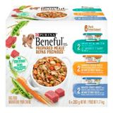 Purina Beneful Variety Prepared Meals Wet Dog Food, 6-Pk | Beneful