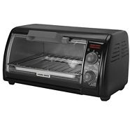 Four grille-pain Black & Decker, noir, 4 tranches