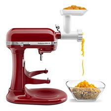 Astounding Kitchenaid Meat Grinder Attachment Home Remodeling Inspirations Genioncuboardxyz