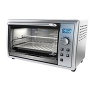 Black & Decker Kitchen Tools Digital Toaster Oven, 6-Slice