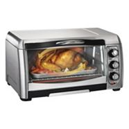 Hamilton Beach Easy-Reach Convection Toaster Oven, 6-slice