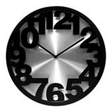 Round Clock, 12-in |