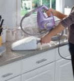 Shark Portable Steam Pocket® Cleaner | Shark | This portable steam cleaner's patented Steam Pocket technology allows you to clean, sanitize and deodorize in one step Interchangeable quick-release hand tools