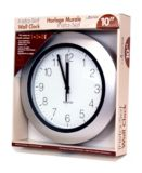 Round Insta-Set Clock, 10-in |