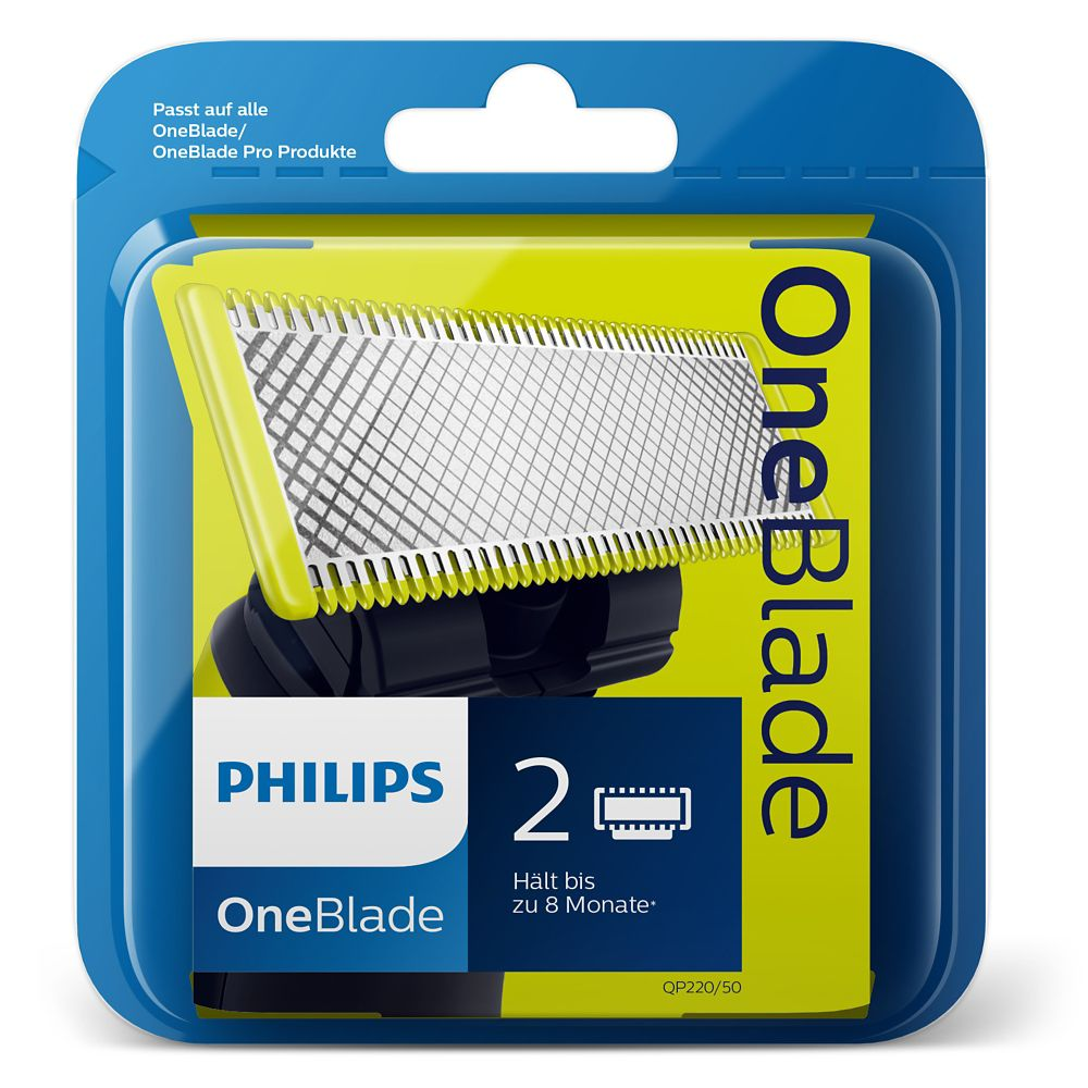 Phillips OneBlade Replacement Heads, 2-pk