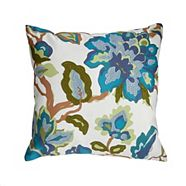 CANVAS Lea Flower Toss Cushion 18 x 18-in
