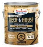 Thompson's WaterSeal Deck & House Waterproofing Stain, Tint Base, 3.54-L | Thompson's