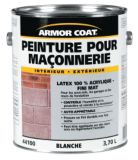 Armor Coat 3.7 L White Acrylic Latex Masonry Paint | Armorcoat