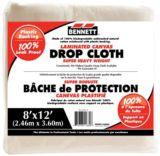 Bennett Laminated Canvas Drop Cloth, 8 x 12-ft | Bennett | Canadian Tire