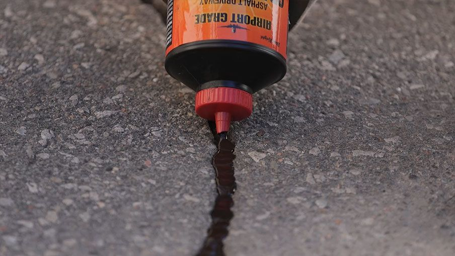 Tire Crack Filler : How to repair cracks in your driveway canadian tire