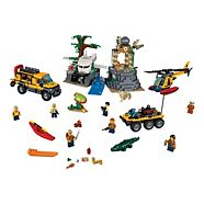 LEGO City, Le site d'exploration de la jungle, paq. 813
