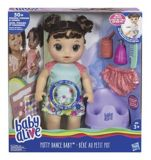 Baby Alive Potty Dance Baby Doll, Brunette | Baby Alive | Canadian Tire