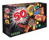 Mars Chocolate Variety Pack, 50-pk | Mars